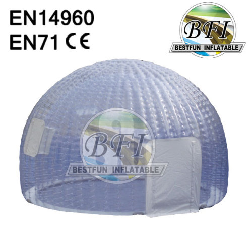 Transparent Double Layer Inflatable Clear Dome Tent