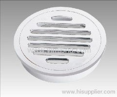 Circular Brass Chrome Plated Floor Drain use for Shower
