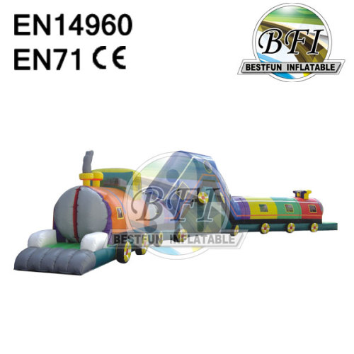 Inflatable Train Tunnel For Kids