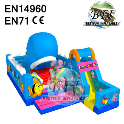 Inflatable Motion Bounce Combo