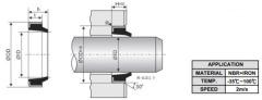 Heavy Duty Seal Hydraulic Seal ring GA Seal
