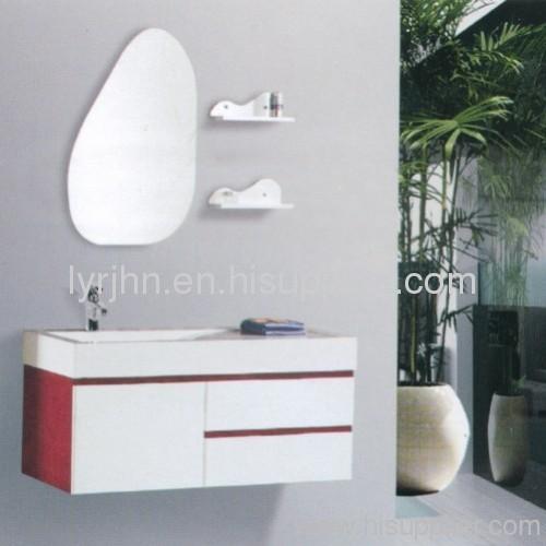 Bathroom cabinet of PVC