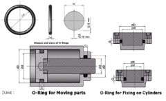 Heavy Duty Seal Hydraulic Seal ring o-ring Seal