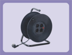 Germany Extension Cable Reel With 4 Outlet Sockets Suitable for 40m 50m cable
