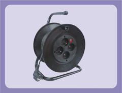 French Extension cable drum with 4 outlet socket suitable for 25m and 30m cables