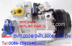 auto ac compressor DENSO 7SBU16C BMW 5 7 E39 5pk 64528362414 64526914370 447170-9241 447100-7471 447260-0780 4472600780