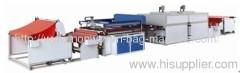 Automatic single color nonwoven fabric screen printing machine