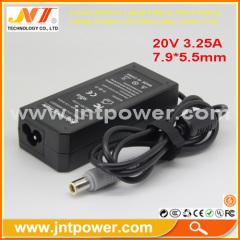 For LENOVO IBM laptop adapter 20V 3.25A 65W