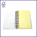 cards insert spiral notepad