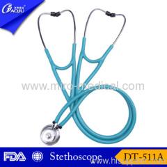 Dual head teaching stethoscope CE certificate