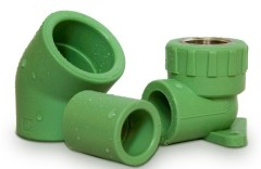 popular PPR fittings pipe plumbing material from China