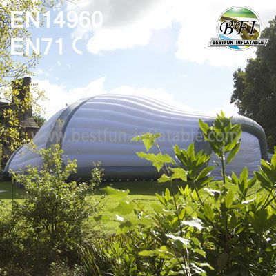 Inflatable Turtle Dome Structure