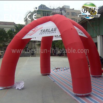 Red Arch Inflatable Tent