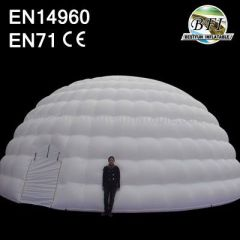 White Inflatable Event Dome