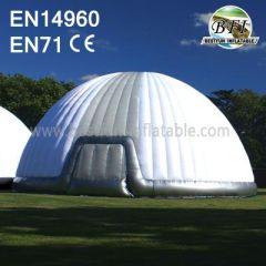 White Inflatable Event Pods