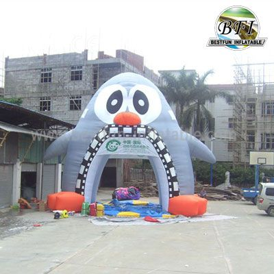 Inflatable Cute Penguin Tent