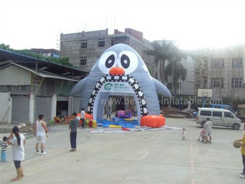 Welcome Inflatable Tunnel Tent