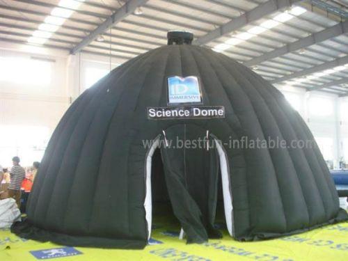 Black Inflatables Igloo Tent