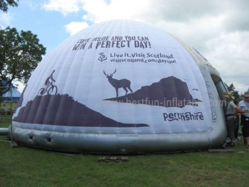 Event Inflatable Dome With Custom Logo And Print