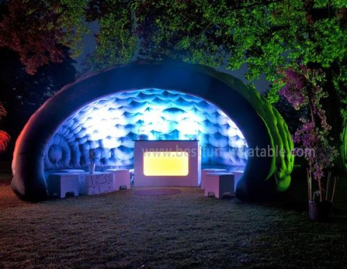 Inflatable Illuminated Bar Luna Tent