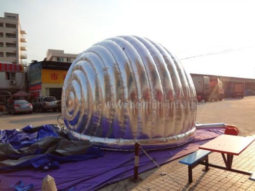 Silvery Inflatable Play Tent