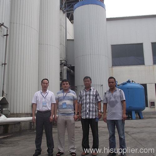 Uzbekistan customer visit our starch factory