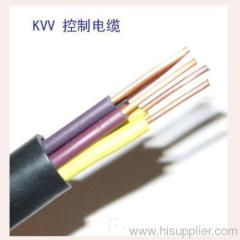 Copper Coductor PVC Insulated and sheathed Control Cable