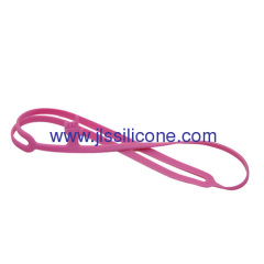 Colorful finger style silicone rubber book mark or clip