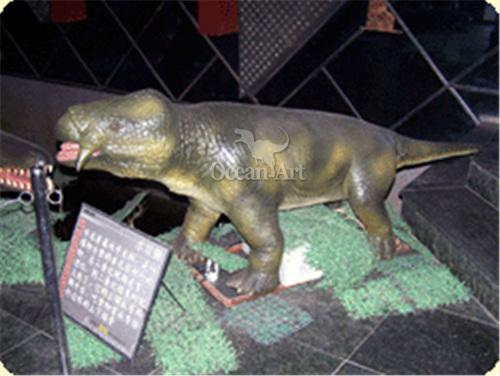 Animatronic Animal Lystrosaurus Animal Lystrosaurus in Animal Park Animal Lystrosaurus