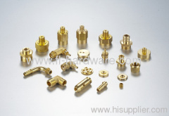 Brass forged and machined connectors