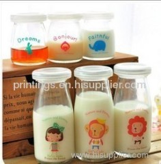 Heat transfer film for daily use bottle