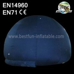 Black Inflatable Planetarium Tent