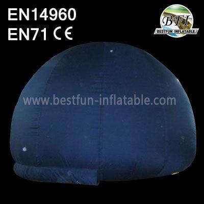 Black Inflatable Planetarium Tent