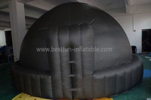 Black Inflatable Projection Tent