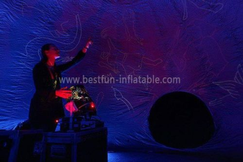 Inflatable Planetarium Dome With Print