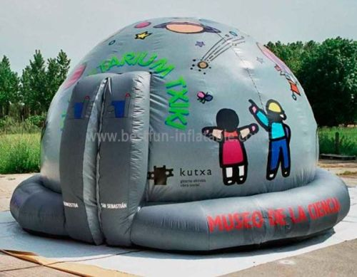 Inflatable Planetarium Dome Tent With Air Lock