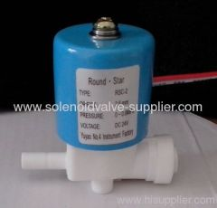 mini quick connection water solenoid valve