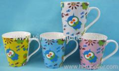 Cartoon Design Porcelain Mug