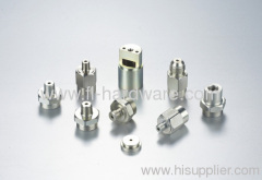 Zinc coated steel switching connector and adaptor