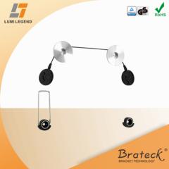 Ultra slim new economical adjustable metal LED TV mount bracket for most 32