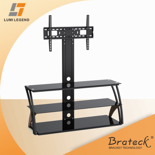 Lcd Stand Designs : Shelves metal tv stand with bracket from china