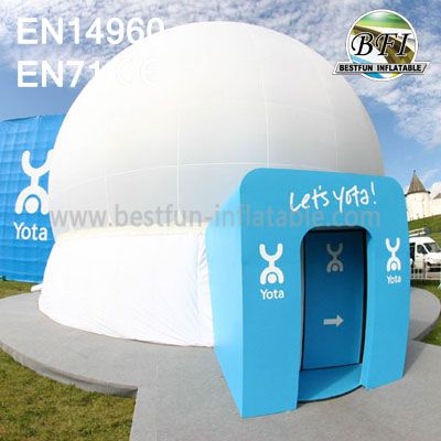 Inflatable Dome Tent For Projection