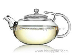 High Quality Hand made Glass Teapots