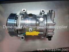 Automotive air conditioner for Peugoet 307 OEM 6453QL ,6453QN SANDEN 7C16