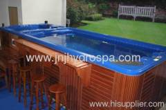 Outdoor swim spas; Swimming pool shops; Home swim spa
