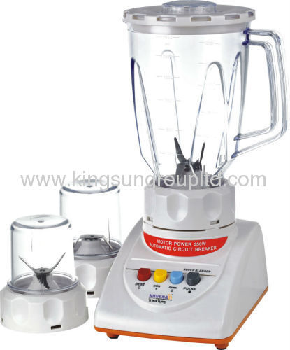 Blender with grinder mixer
