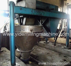 vertical pin mill modern fine grounding device used in potato starch processing industry