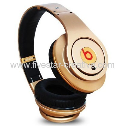 Beats by Dr.Dre Studio LeBron James 23 Dull Gold Monster Headphones