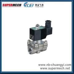 2S160-15 Series Stainless Steel Valve water solenoid valve 24V 220V Large Aperture