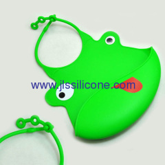 Cute and durable silicone baby bibs